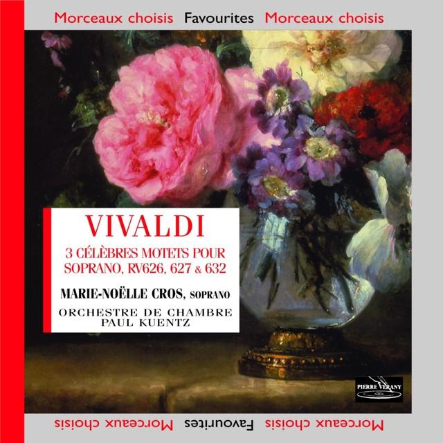 Vivaldi: Trois motets célèbres, RV 626, RV 627 & RV 632 Albumcover