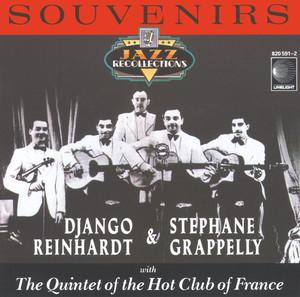 Martial Solal, Django Reinhardt, Stéphane Grappelli Nuages - Instrumental cover