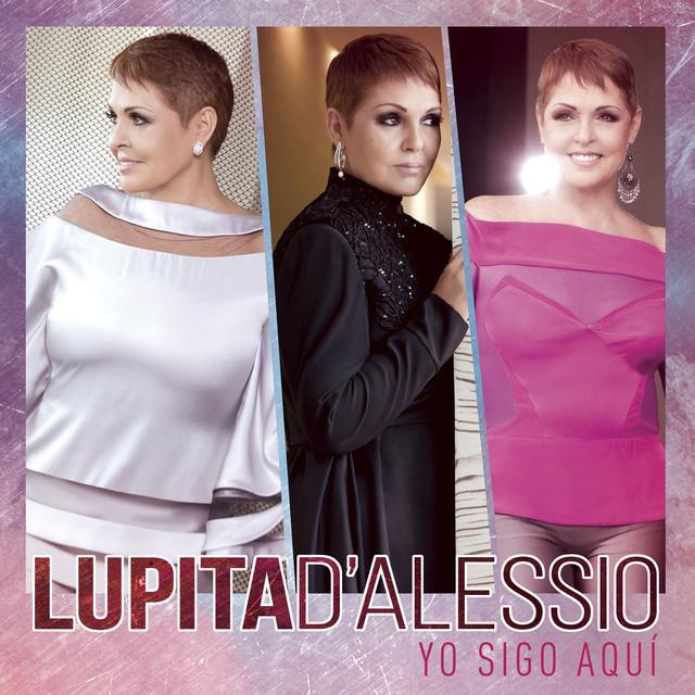 Album cover for Yo sigo aquí by Lupita D'Alessio