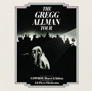 Gregg Allman Stand Back cover