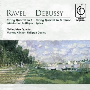 Chilingirian Quartet, String Quartet in F: II. Assez vif: très rythmé på Spotify