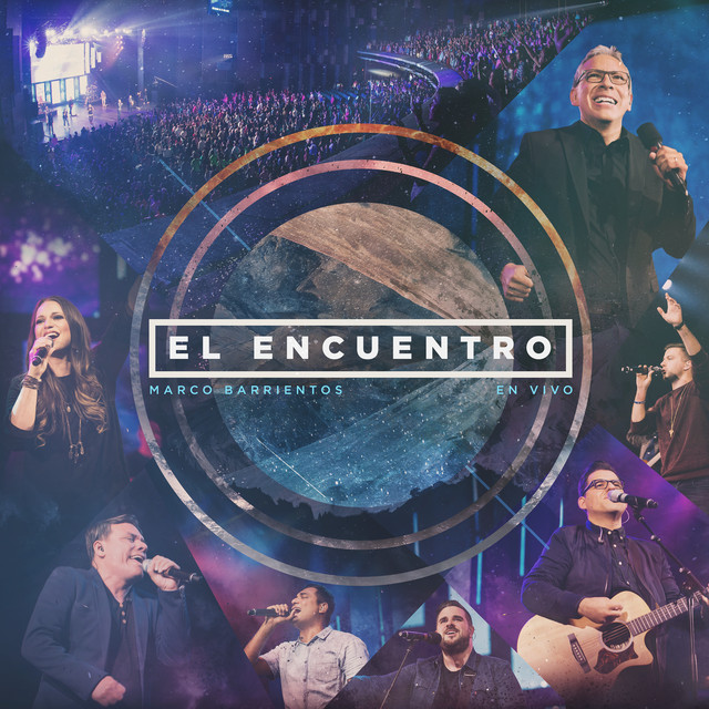 Album cover for El Encuentro by Marco Barrientos