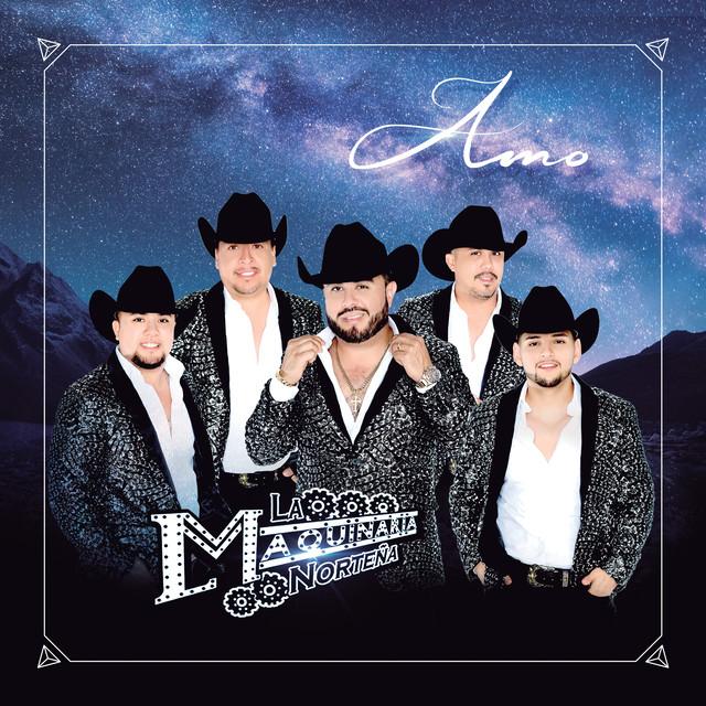 Album cover for Amo by La Maquinaria Norteña