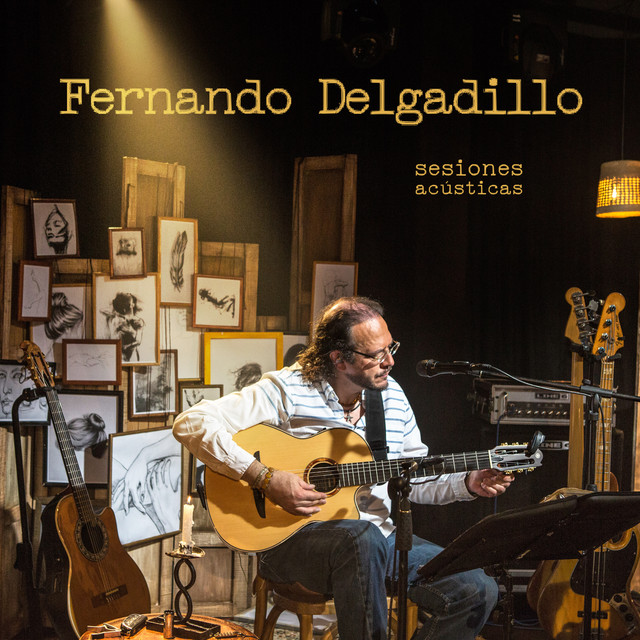 Album cover for Sesiones Acústicas by Fernando Delgadillo