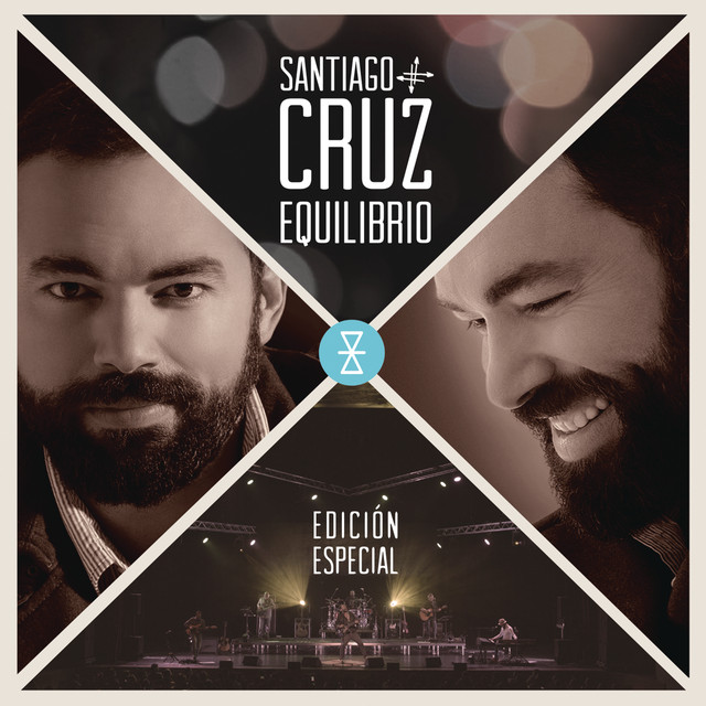 Album cover for Equilibrio (Edición Especial) by Santiago Cruz