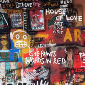 She Paints Words in Red album