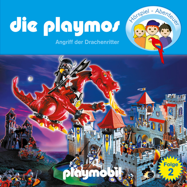 Folge 2: Angriff der Drachenritter (Das Original Playmobil Hörspiel) Cover