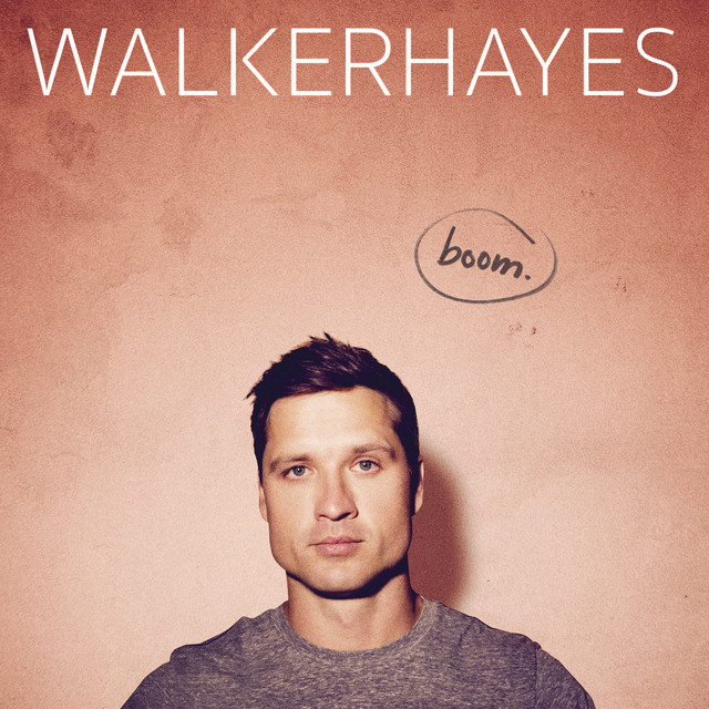 Album cover for boom. by Walker Hayes