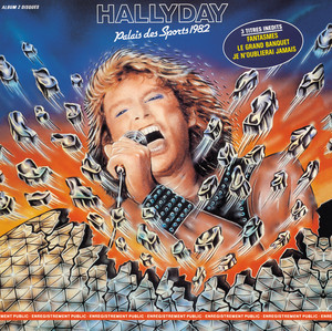 Johnny Hallyday Ma gueule cover