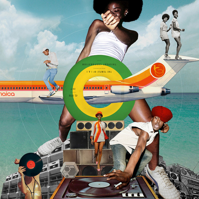 Album cover for The Temple of I & I by Thievery Corporation