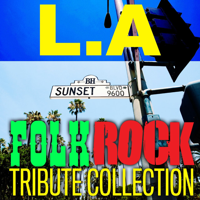 LA Folk Rock Tribute Collection Albumcover