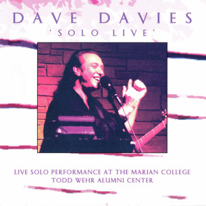 Solo Live: Live Solo Performance at the Marian College Todd Wehr Alumni Center album