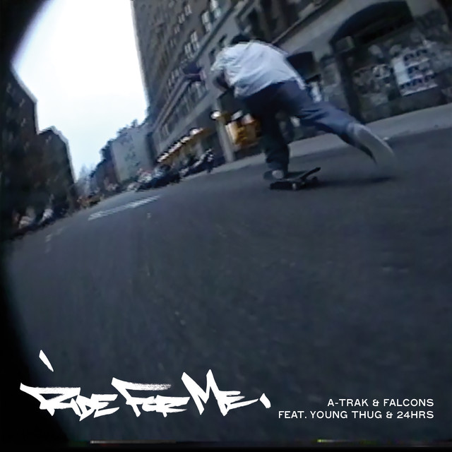 A‐Trak, Young Thug, Falcons Ride For Me album cover