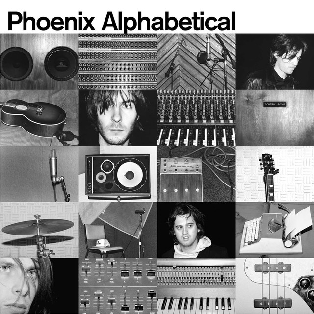 Album cover for Alphabetical by Phoenix