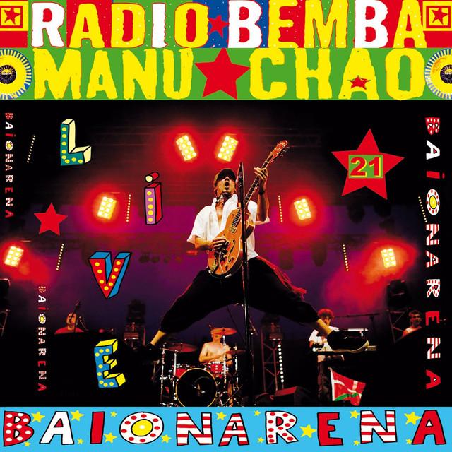 Manu Chao Baïonarena (Live) album cover