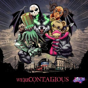 We're Contagious Albumcover