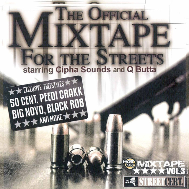 Various Artists The Official Mix Tape for the Streets, Vol. 3 album cover
