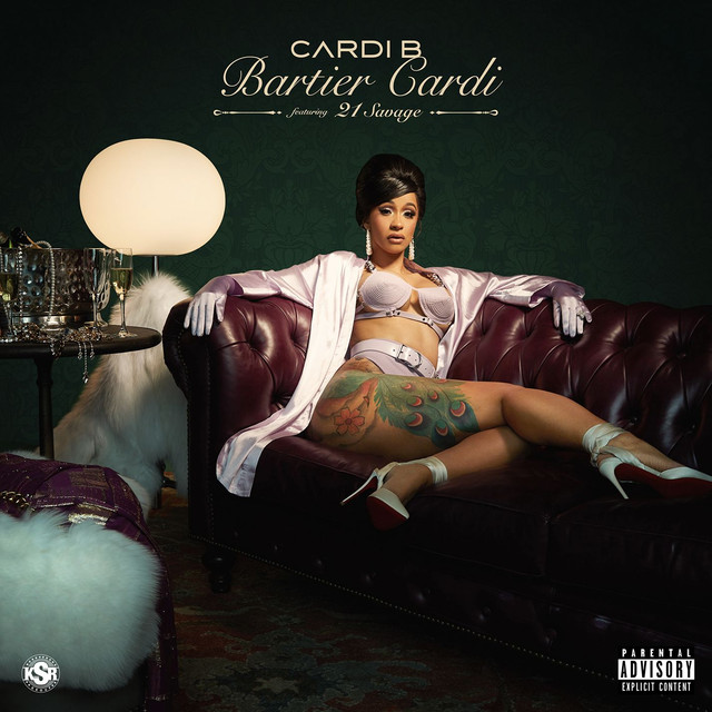 Image result for bartier cardi spotify