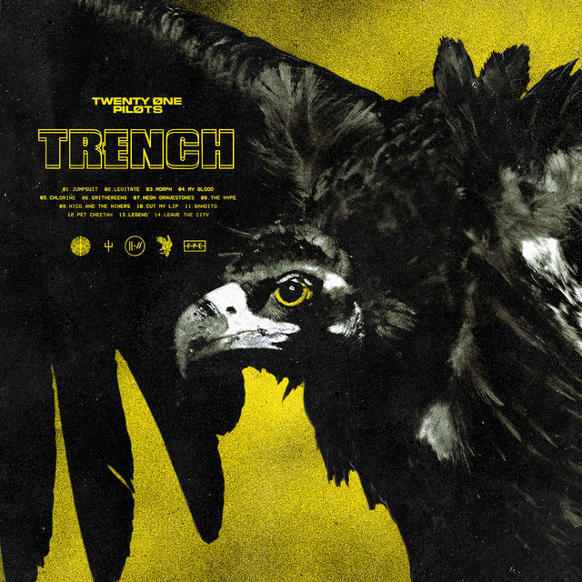 Album cover for Trench by Twenty One Pilots
