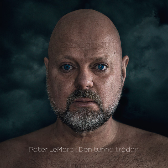 Album cover for Den tunna tråden by Peter Lemarc