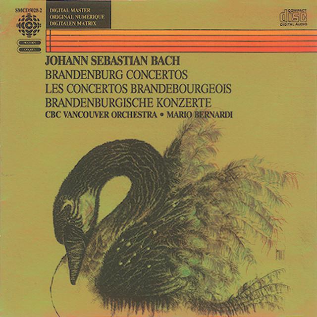Bach, J.S.: Brandenburg Concertos Nos. 1-6 Albumcover