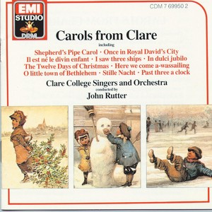 Carols from Clare Albumcover