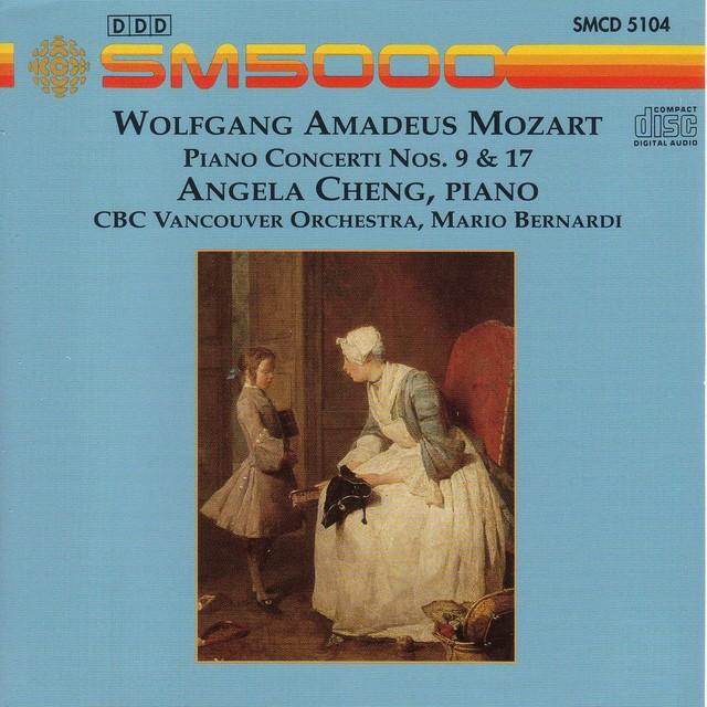 Mozart: Piano Concerto Nos. 9 and 17 Albumcover