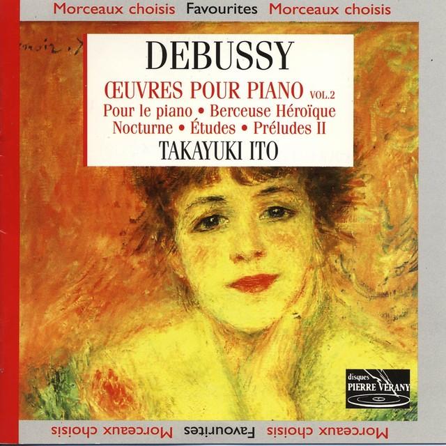 Debussy : Œuvres pour piano, vol. 2 Albumcover