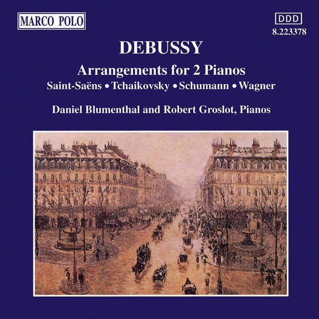 Debussy: Arrangements for 2 Pianos Albumcover
