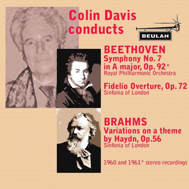 Coiln Davis Conducts Beethoven and Brahms