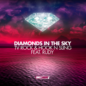 TV Rock, Hook n Sling, Rudy Diamonds In The Sky (feat. Rudy) - Antoine Clamaran Remix cover