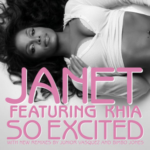 Janet Jackson, Khia So Excited (Junior Vasquez Club Mix) [feat. Khia] cover