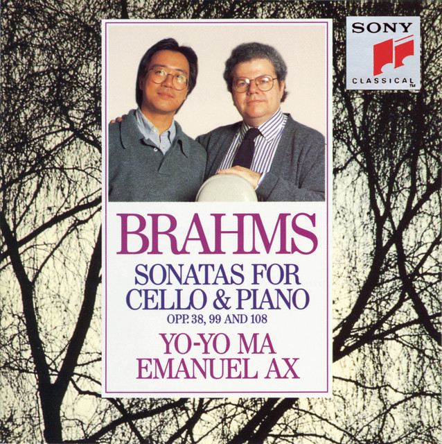Brahms: Sonatas for Cello & Piano, Opp. 38, 99 and 108 Albumcover