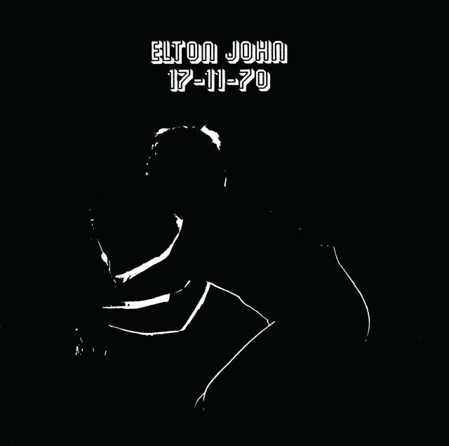 Elton John 11-17-70 album cover