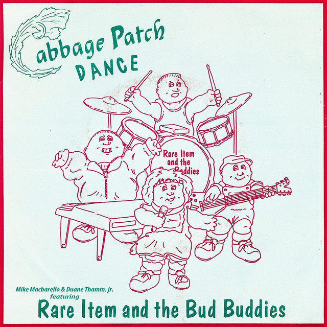 Artwork for Cabbage Patch Dance [feat. Rare Item & the Bud Buddies] - Vocal by Mike Macharello