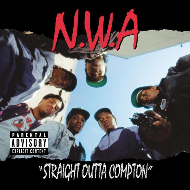 Straight Outta Compton album cover