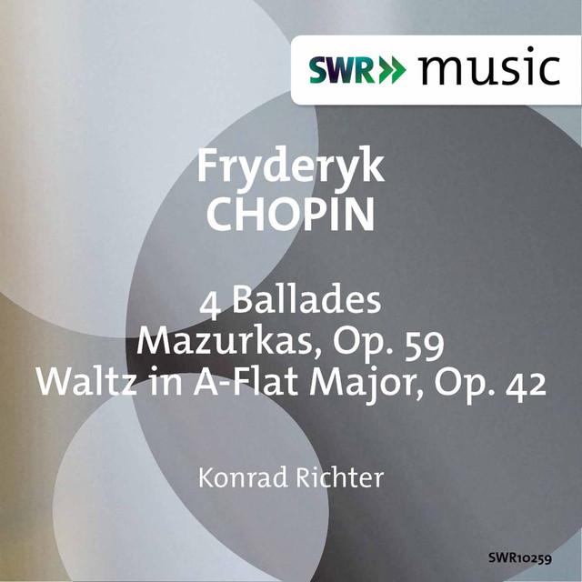 Chopin: Ballades, Mazurkas & Waltz, Op. 42 Albumcover