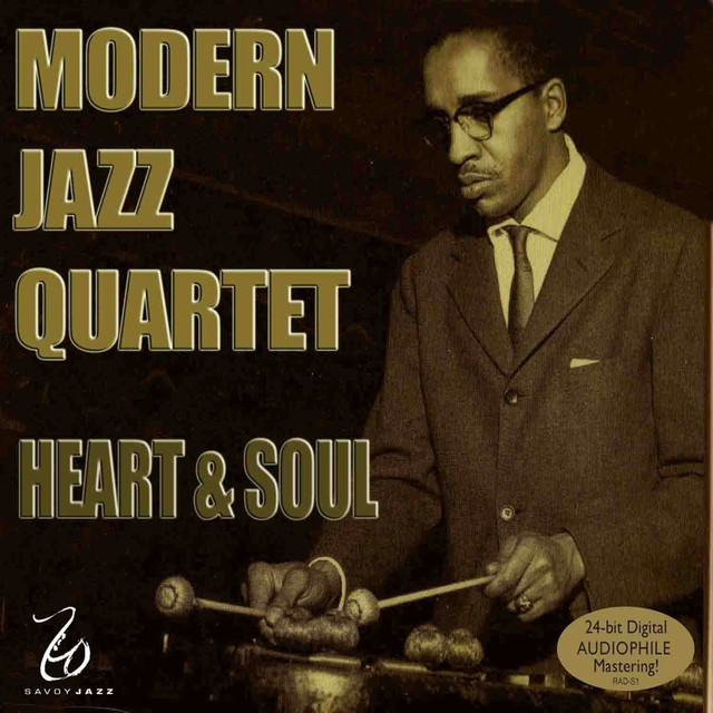 Milt Jackson Heart and Soul album cover