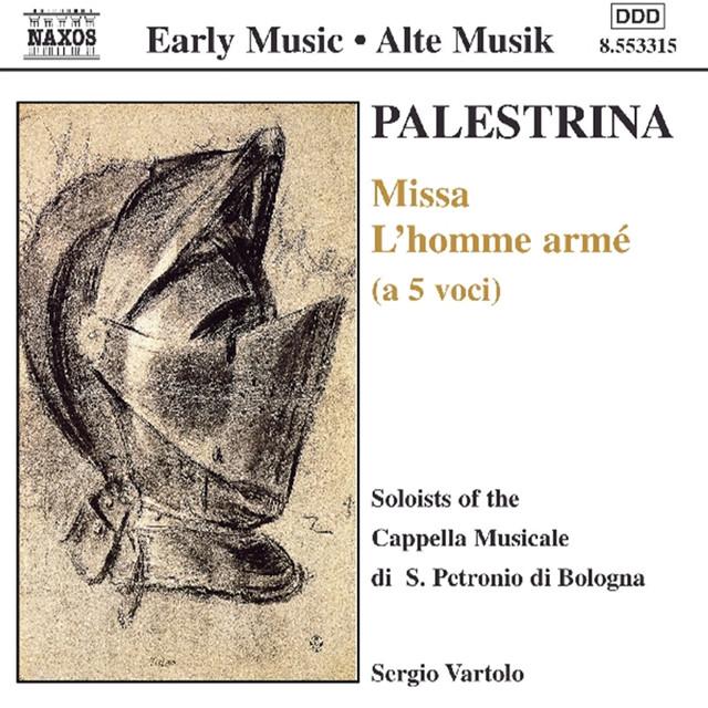 Palestrina: Missa L'Homme Arme / Cavazzoni: Ricercari Albumcover