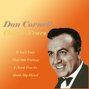 Don Cornell I Surrender, Dear cover
