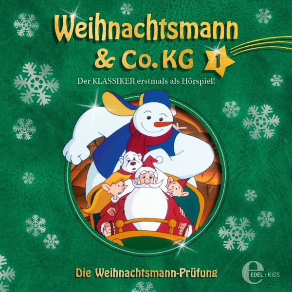 Folge 1: Die magische Perle  -  Die Weihnachtsmann-Prüfung (Das Original-Hörspiel zur TV-Serie) Cover