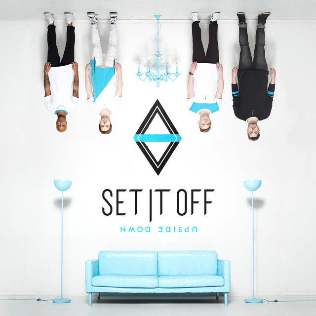 Album cover for Upside Down by Set It Off
