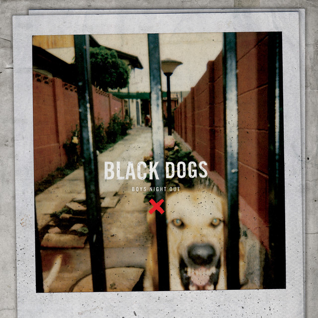 Album cover for Black Dogs by Boys Night Out
