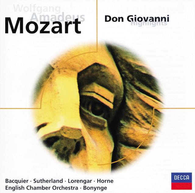 Don Giovanni, ossia Il dissoluto punito, K 527 - Prague Version 1787