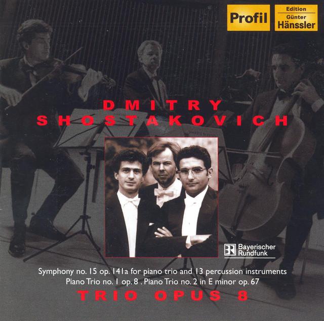 Shostakovich: Symphony No  15 (Arr  for Piano Trio and Percussion