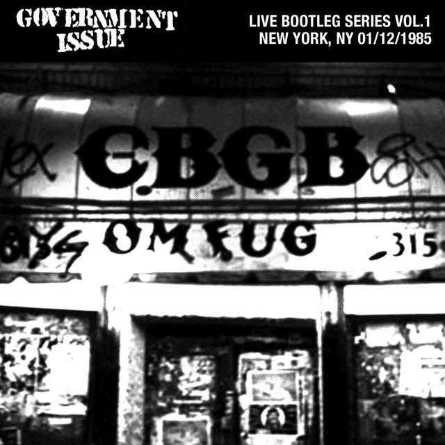Live Bootleg Series Vol. 1: 01/12/1985 New York, NY @ CBGB