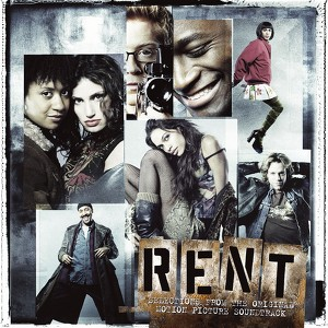 RENT - Selections From The Original Motion Picture Soundtrack Albumcover