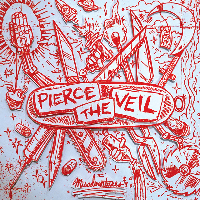 Album cover for Misadventures by Pierce The Veil