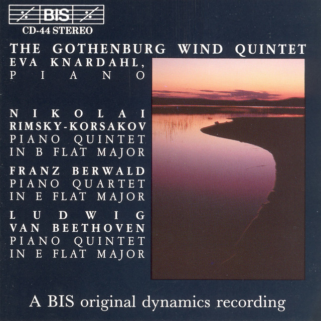 Rimsky-Korsakov / Beethoven: Piano Quintets / Berwald: Piano Quartet Albumcover