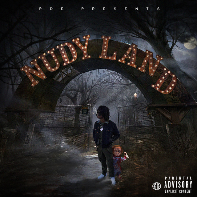 Album cover for Nudy Land by Young Nudy